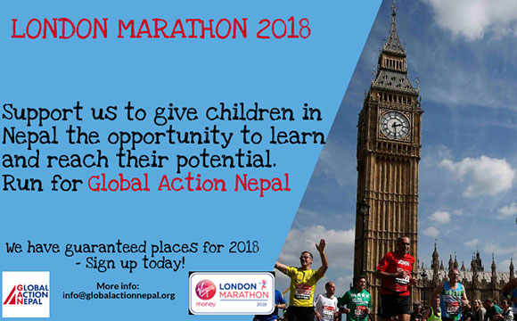 RUN for GAN @ 2018 LONDON MARATHON